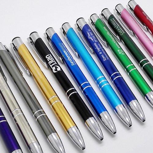 Laser engraved pens